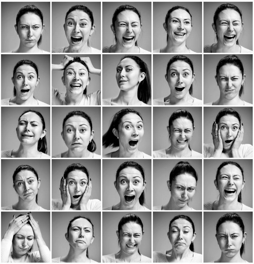 Mark emotions: image